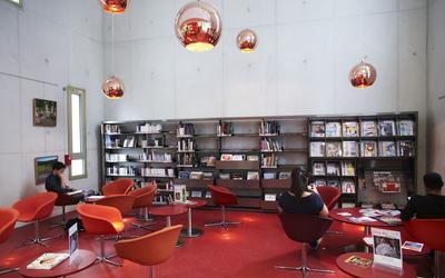Un espace de détente de l'université St-Quentin. ©FlickR/UVSQ