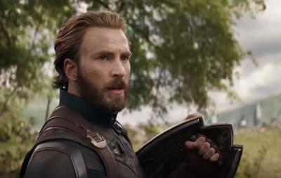 Captain America pendant la bataille du Wakanda.