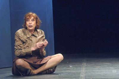 Dans «Mademoiselle Werner», au théâtre des Variétés en 2006.