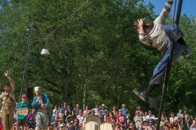 Spectacles et concerts ont ponctué la manifestation tout le week-end.