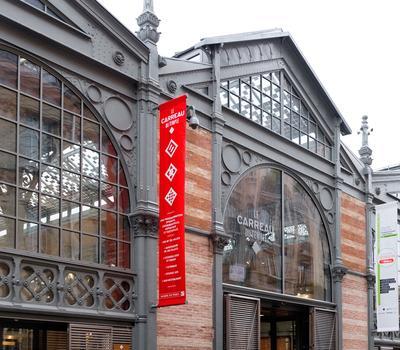 Le salon aura lieu au Carreau du Temple, un ancien marché couvert, à deux pas de l'Ecole de mode Duperré.