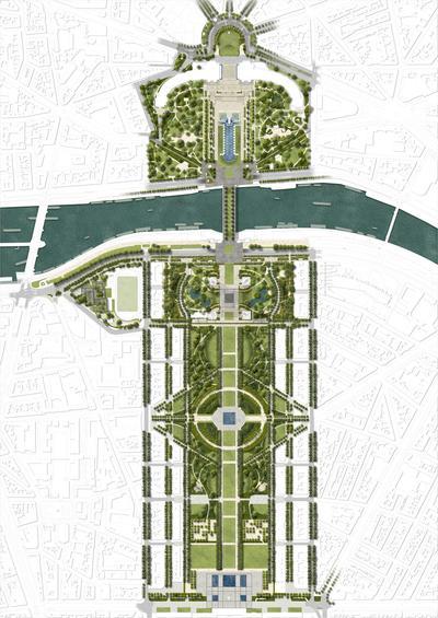 La mairie de Paris a l'ambition de faire de la promenade le plus grand jardin de Paris.