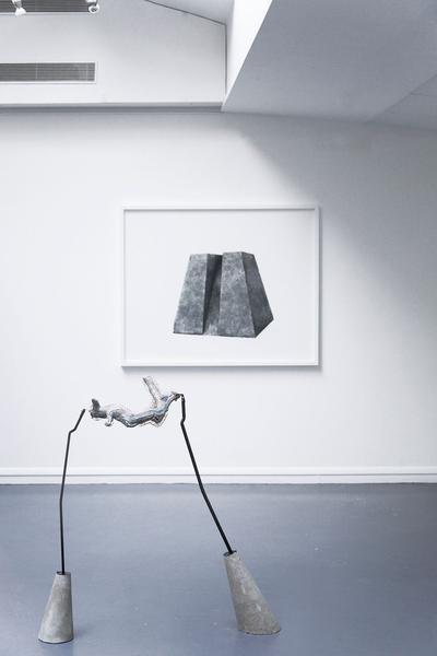 Deux œuvres de l'exposition «Instable», du 6 au 15 février à la Galerie du Crous.