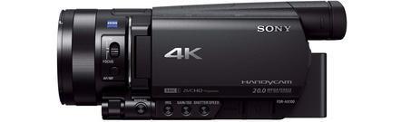 Caméscope 4K Sony FDR-AX100