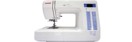 Machine à coudre électronique Janome 8077 Jeans & Stretch