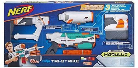 Pistolet Nerf Modulus Tristrike