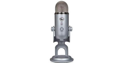 Microphone Blue Microphones USB Yeti Argent Silver Edition