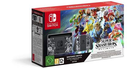 Pack Nintendo Switch + Super Smash Bros. Ultimate
