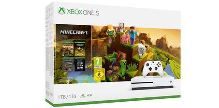 Pack Xbox One S + Minecraft Creators