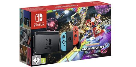 Pack Nintendo Switch + Mario Kart Deluxe 8