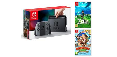 Pack Nintendo Switch + Zelda