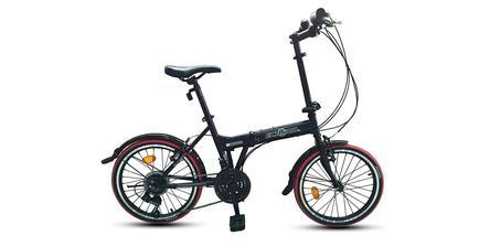 Vélo pliant Ecosmo 20TF03BL