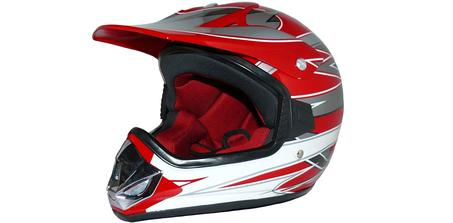 Casque de moto-cross Protectwear Max Racing V310-RT
