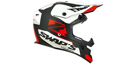 Casque de moto-cross Swap's Blur S818