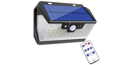 Lampe solaire d'extérieur Bovon