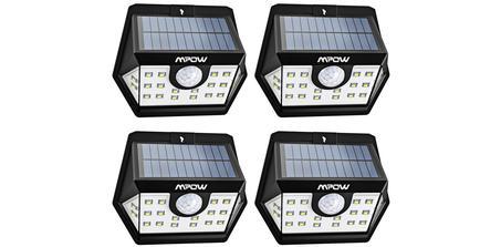 Lampe solaire d'extérieur Mpow