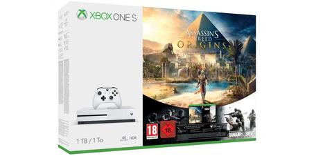 Pack Xbox One + Assassin's Creed: Origins & Rainbow Six: Siege