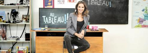 Mélissa Theuriau (Au tableau! ): «Teddy Riner parle de ses failles»