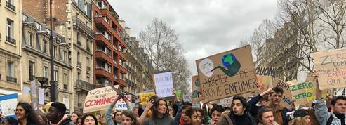Grève mondiale pour le climat: 29.000 à 40.000 jeunes manifestants à Paris
