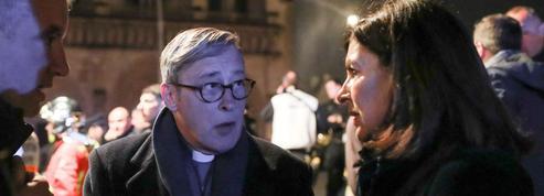 Mgr Chauvet: «En entrant dans la cathédrale, on s'est donné la main avec le président»