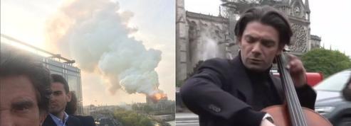 Notre-Dame de Paris: la sidération et l'émotion de Jack Lang, Fabrice Luchini, Marion Cotillard...
