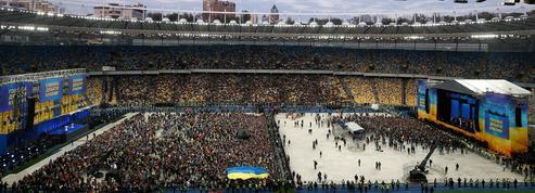 En Ukraine, la présidentielle se conclut dans l'arène