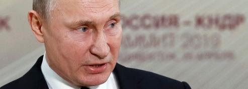 Ukraine-Russie: premier coup de griffe de Poutine à Zelensky