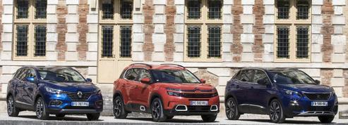 Peugeot, Renault, Citroën: le match des SUV tricolores