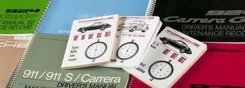 Porsche réimprime les manuels de ses anciens modèles
