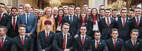 Macron mise sur les WorldSkills pour doper l'apprentissage en France