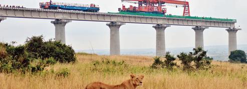 Au Kenya, les bêtes sauvages regarderont passer les trains