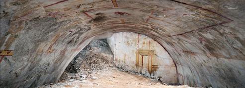 «La salle du sphinx»: des peintures du Ier siècle découvertes à la Domus Aurea de Rome