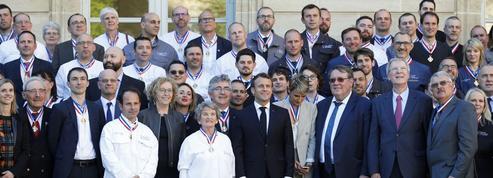 Macron nommé meilleur ouvrier de France