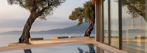 4 hôtels sur une île grecque