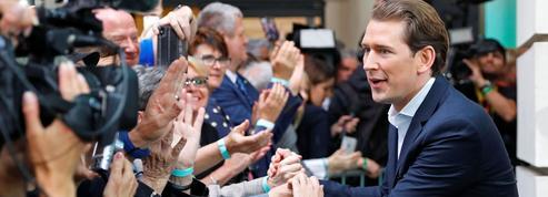 Élections européennes 2019: le chancelier Sebastian Kurz, grand gagnant en Autriche