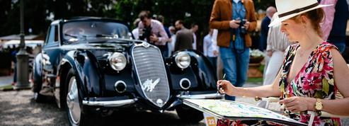 Concours de la Villa d'Este, l'Alfa Romeo 8C 2900B «Best of Show»