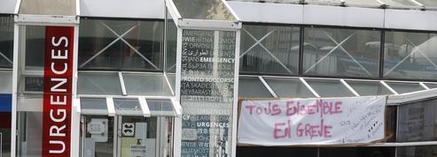 Grève dans les hôpitaux: à Lariboisière, les urgentistes en arrêt maladie