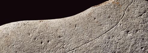 La plus ancienne BD d'Angoulême est gravée sur un bloc de grès vieux de 12.000 ans