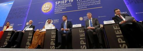 Les Français présents mais embarrassés au «Davos russe»