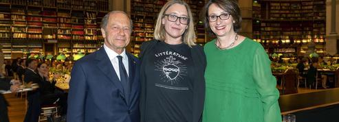 Virginie Despentes reçoit son «putain de prix» à la Bibliothèque nationale de France