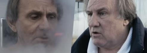 Premiers soins de Gérard Depardieu et Michel Houellebecq en Thalasso