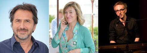 Édouard Baer, Valeria Bruni-Tedeschi et Vincent Delerm honorés par les Immortels