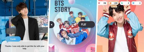 L'histoire du groupe phénomène BTS devient un jeu pour mobile