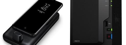 Voyagez léger avec un Samsung en poche et Synology à la maison