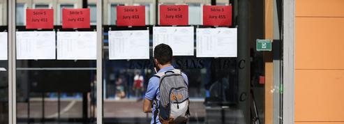 Bac: Blanquer évoque un «risque» que des candidats n'aient pas leurs résultats à temps