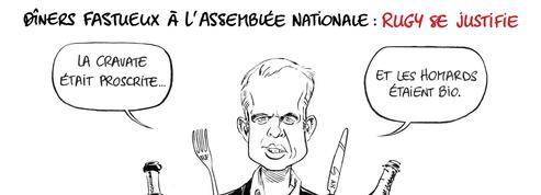 Le dessin d'Ixène: François de Rugy se justifie