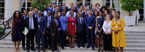 Le marathon parisien de 32 «young leaders» africains