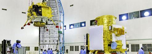 Avec la mission Chandrayaan-2 , l'Inde part à la conquête de la Lune