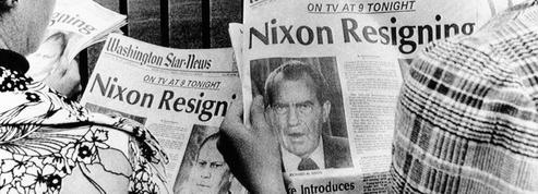 Scandale du Watergate: Richard Nixon annonce sa démission le 8 août 1974