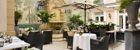 6 patios d'hôtels secrets à Paris